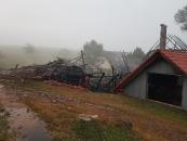 Gebäudebrand nach Blitzschlag - 15.07.18_14